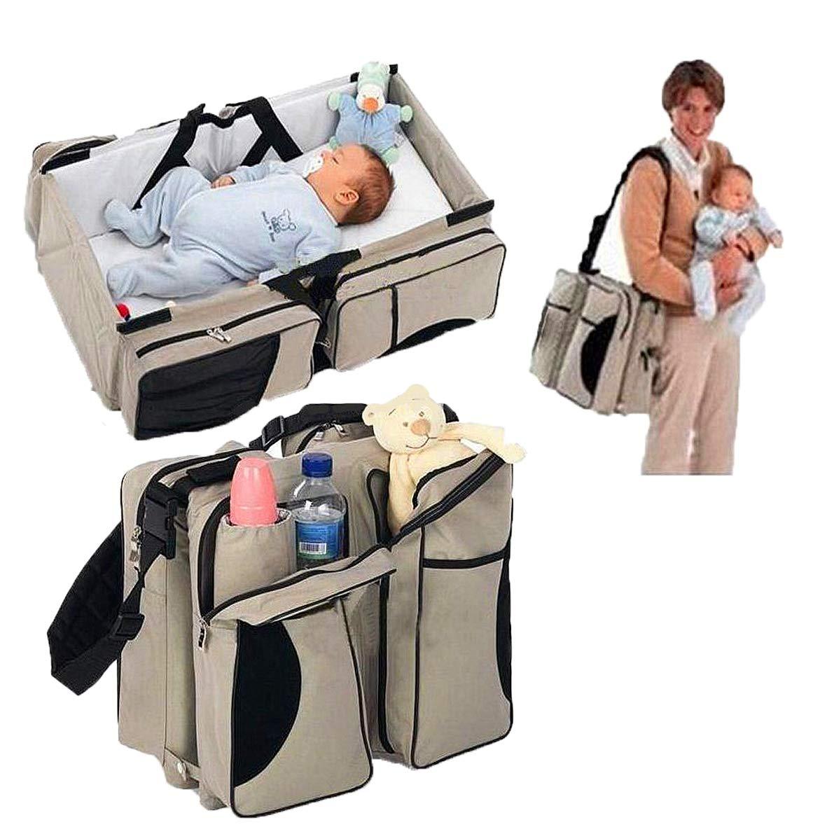 صورة حقيبة سرير أطفال محمول قابل للطي