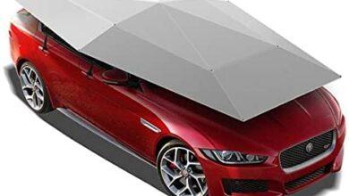مظلة سيارة يدوية شبه أوتوماتيكي للحماية من الأشعة فوق البنفسجية